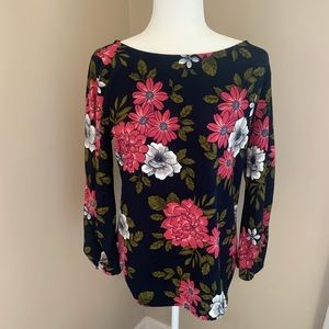 Ann Taylor Factory Floral Top.